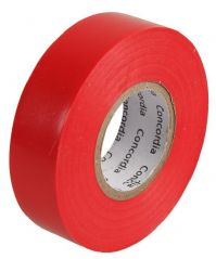 CONCORDIA TECHNOLOGIES AIT1920RED SINGLE  Insulation Tape Red 19Mm X 20M